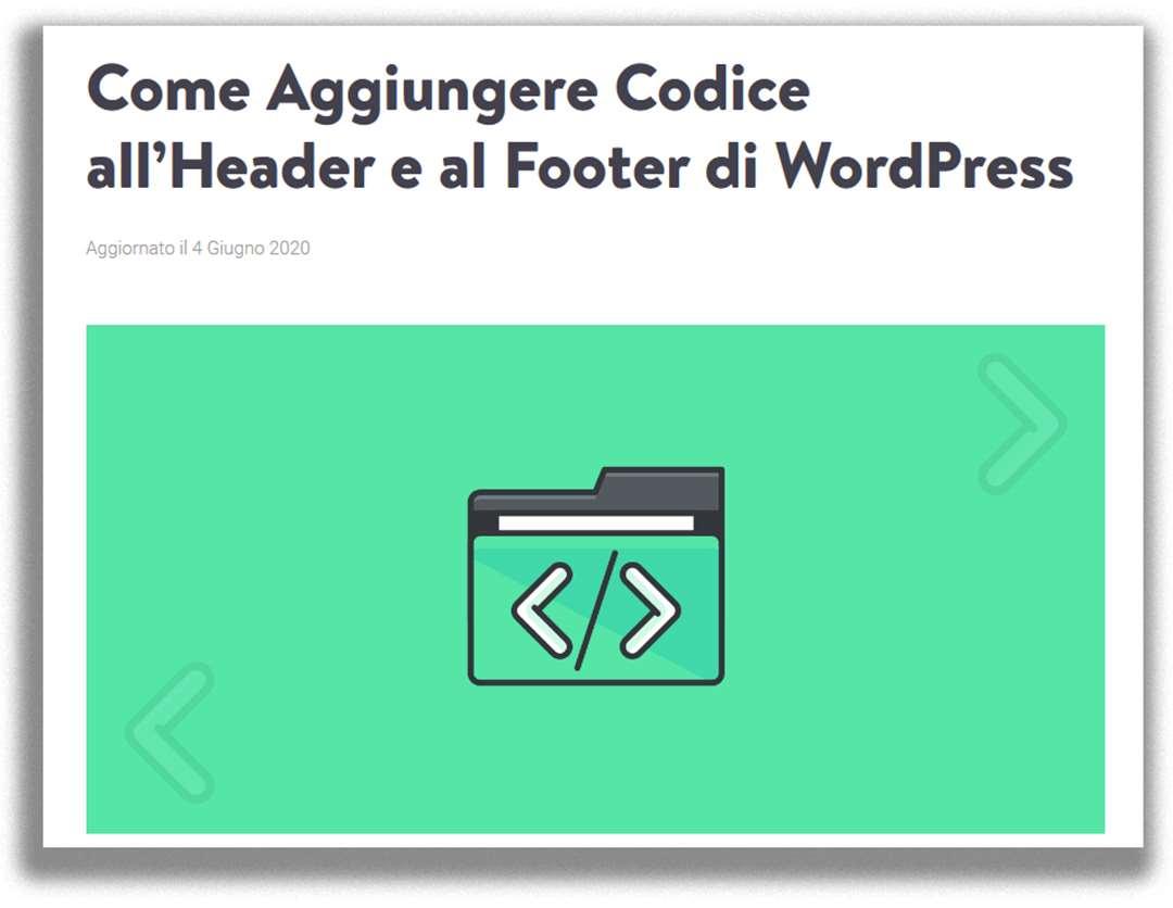 Copertina guida Kinsta - Aggiungere Codice all'Header e al Footer di WordPress